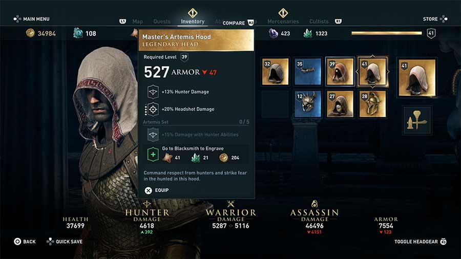 Master Artemis Hood