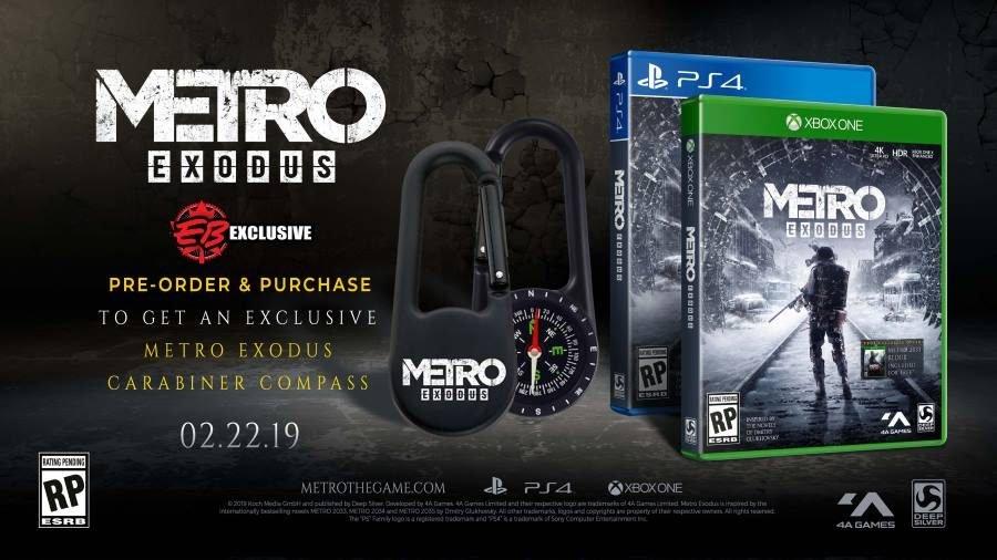 Metro Exodus Carabineer Compass - Gamers Heroes