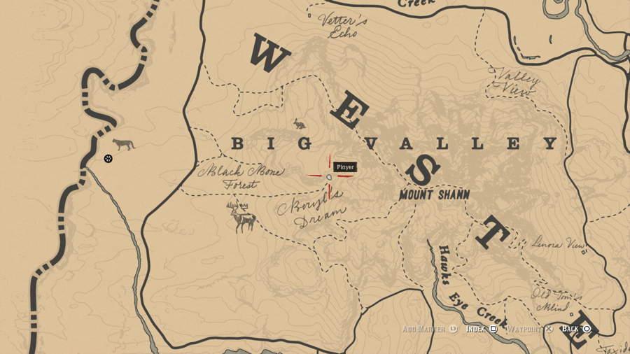 Mining Hat Location Red Dead Redemption 2