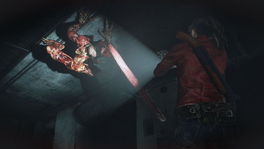 New Resident Evil 2 Remake Trailer Shows Off Licker Battle