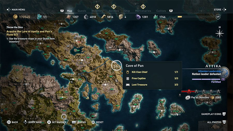 Assassin S Creed Odyssey Throw The Dice Guide Gamersheroes