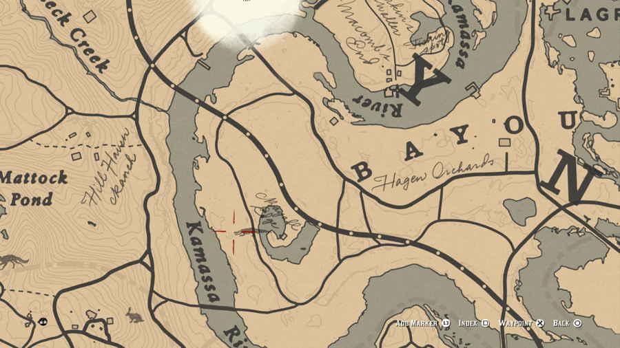Red Dead 2 Gator Location
