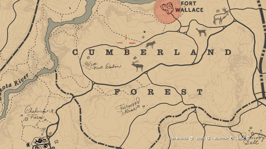 Red Dead Redemption 2 Elk Location