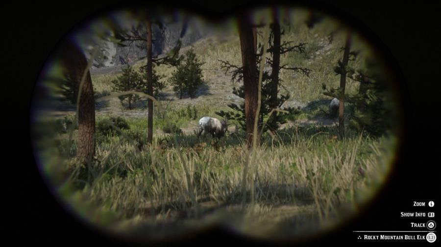 Red Dead Redemption 2 Elk
