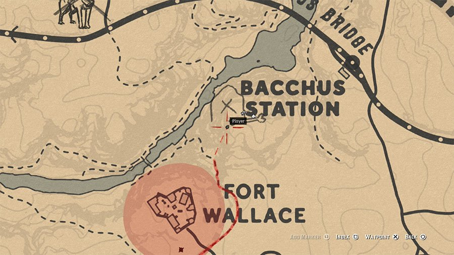Red Dead Redemption 2 High Stakes Treasure Map 3 Solution 1