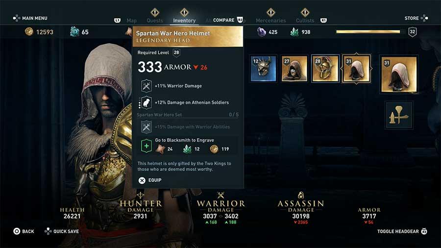 Spartan War Hero Helmet