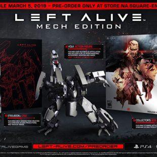 Square Enix Survival Action Shooter, Left Alive, Release Detailed