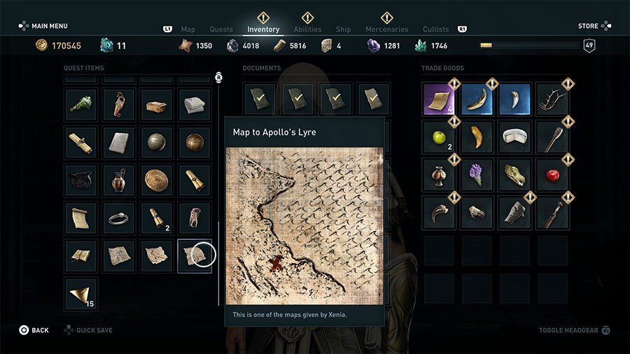 Throw The Dice Guide - Lyre Of Apollo