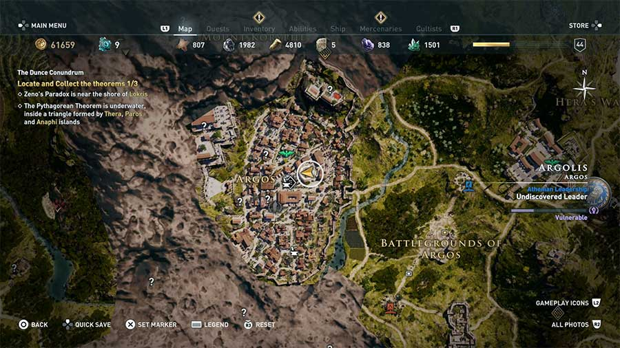 Assassin S Creed Odyssey The Secrets Of Greece The Dunce