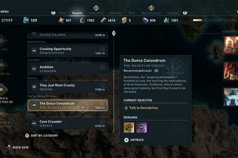 Where To Find Secrets Of Greece Quest In Assassin's Creed Odyssey