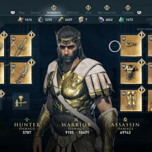 Where To Find The Demigod Helmet In Assassin's Creed Odyssey
