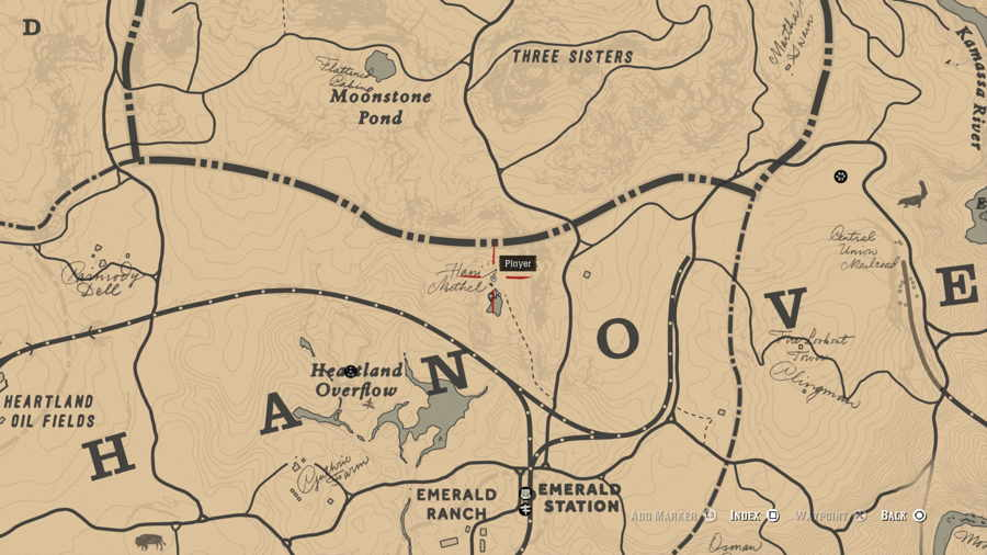 Where To Find The UFO In Red Dead 2