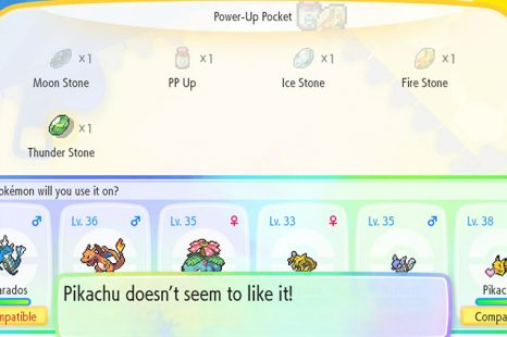 Can You Evolve Pikachu In Pokemon Let's Go Pikachu