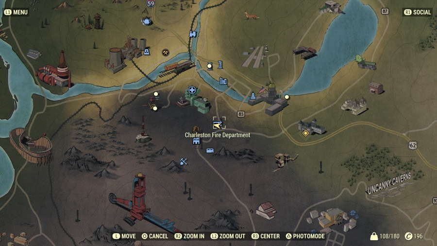 Fallout 76 Bulk Material Vendor Locations