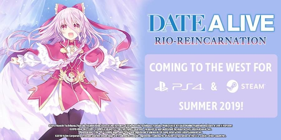 DATE A LIVE Rio Reincarnation - Gamers Heroes