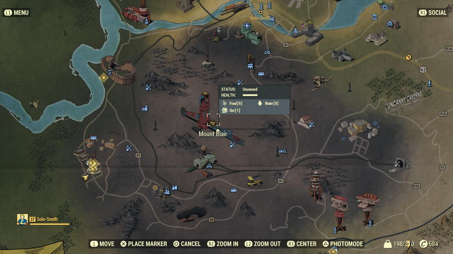 Fallout 76 gear locations 1