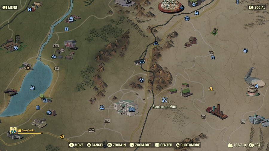 Fallout 76 gear locations 2