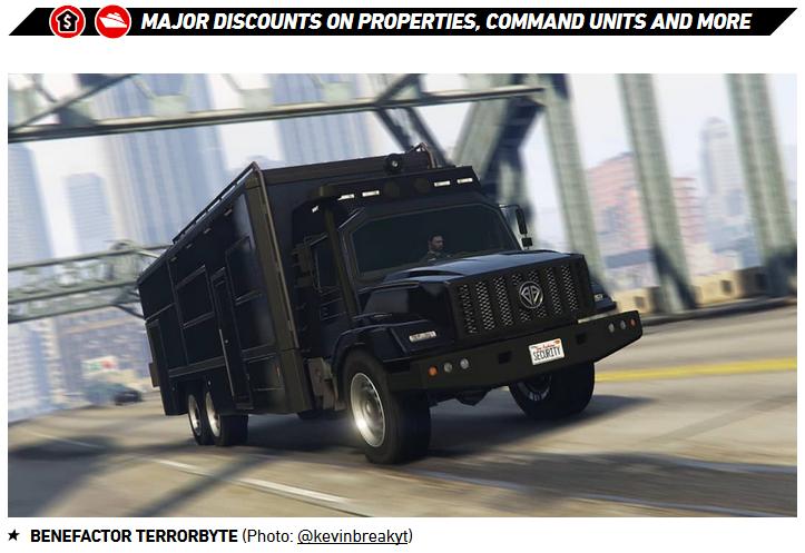 GTA Online Benefactor Terrorbyte - Gamers Heroes