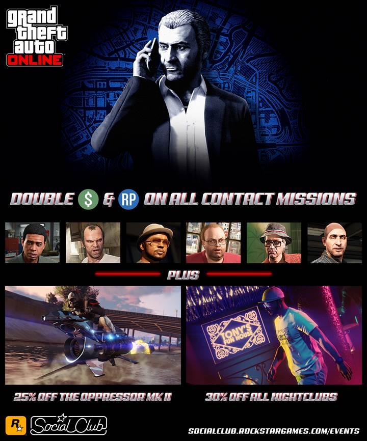 GTA Online Double RP - Gamers Heroes