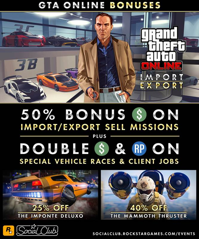 GTA Online ImportExport Sell Missions - Gamers Heroes