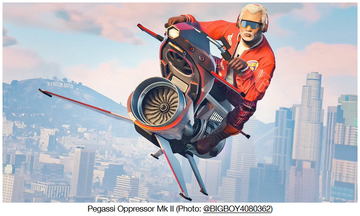 GTA Online Pegassi - Gamers Heroes