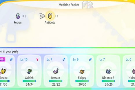 How To Cure Poison In Pokemon Let's Go