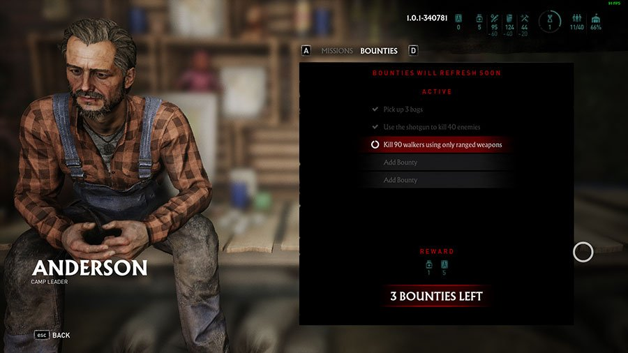 How To Get Blueprints In Overkill's The Walking Dead Bounties