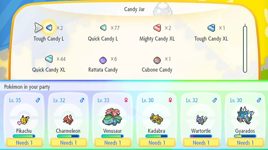 How To Get More Candy's In Pokemon Let's Go Pikachu & Eevee