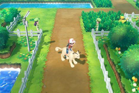 How To Ride Pokemon In Pokemon Let's Go