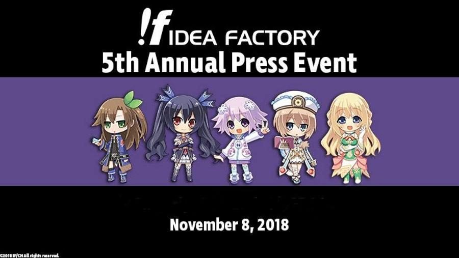 Idea Factory Press Event 2018 - Gamers Heroes