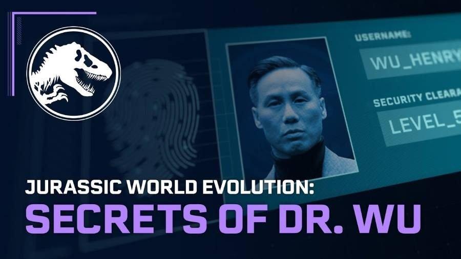 Jurassic World Evolution Dr. Wu - Gamers Heroes