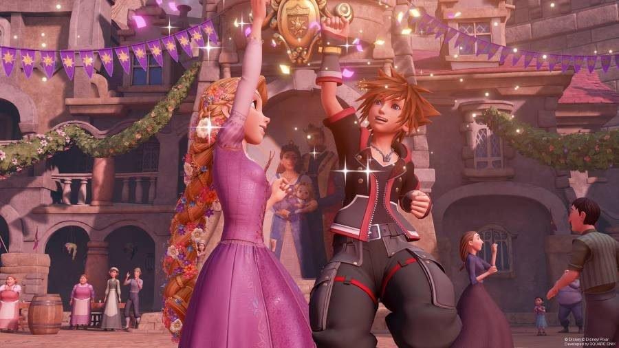 Kingdom Hearts III Tangled - Gamers Heroes