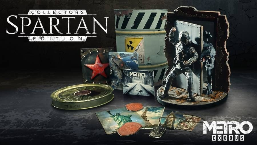 Metro Exodus Spartan Edition - Gamers Heroes
