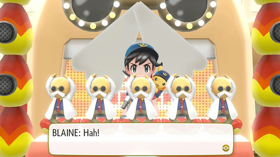 Pokemon Let's Go Blaine Gym Quiz Answers