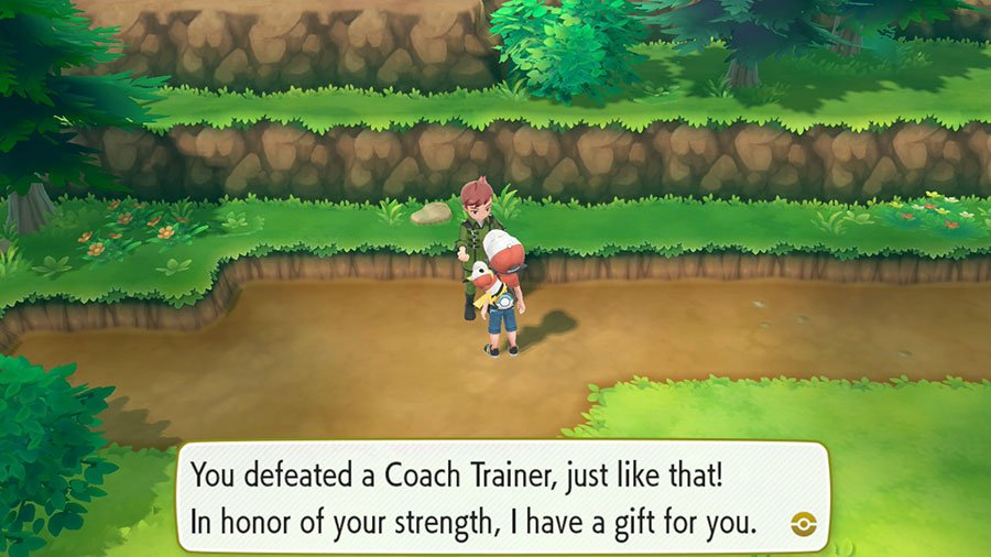 Pokemon Let's Go Coach Trainer Location Guide