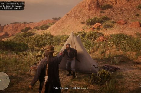 Red Dead Online Spare The Bandit (Take Map) Or Kill Bandit