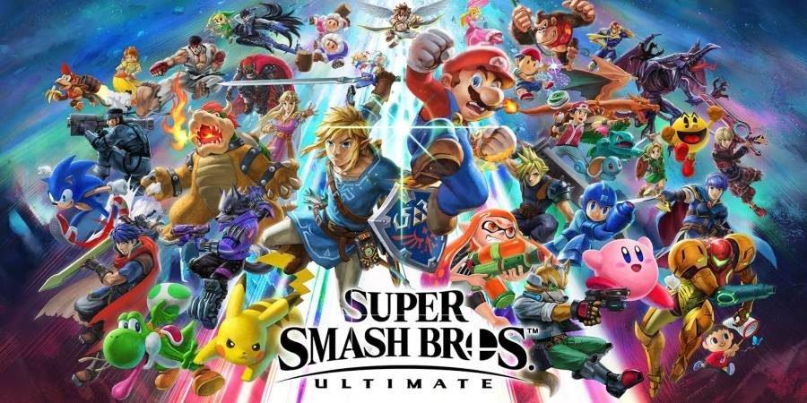 Super Smash Bros Ultimate - Gamers Heroes