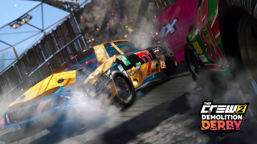 demolition derby mode coming to the crew 2 gamersheroes. Black Bedroom Furniture Sets. Home Design Ideas
