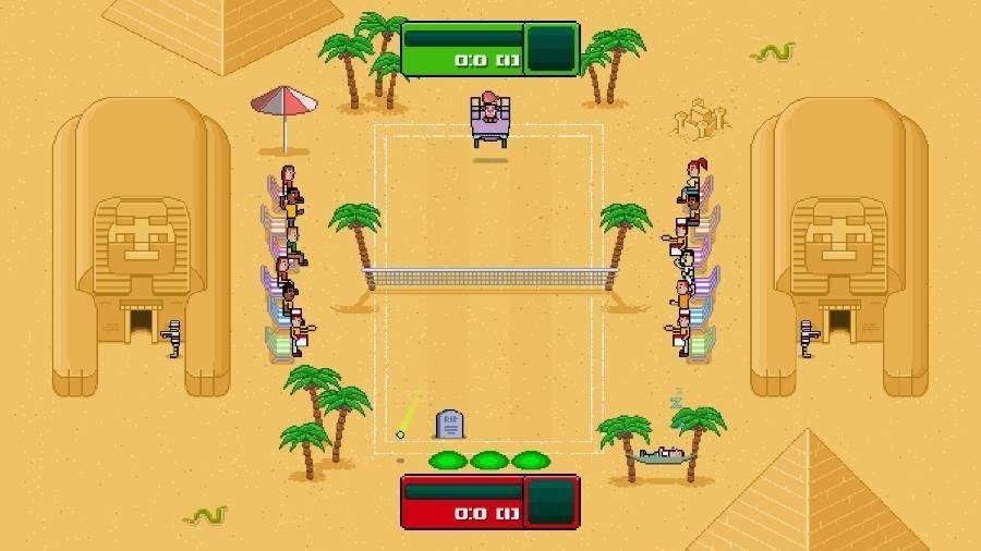 Timber Tennis Versus - Gamers Heroes