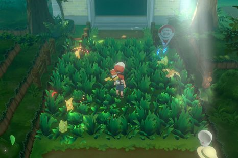What Do Lights Around Pokemon Do In Pokemon Let's Go