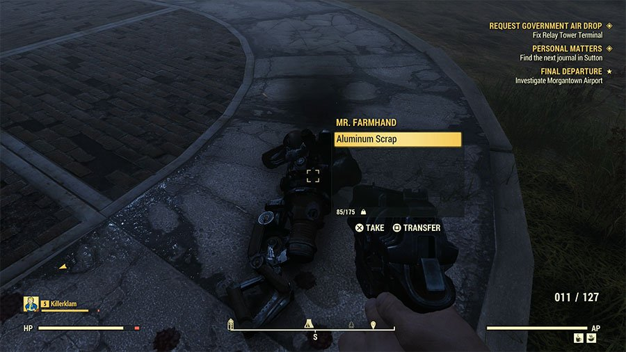Where To Find Aluminum In Fallout 76