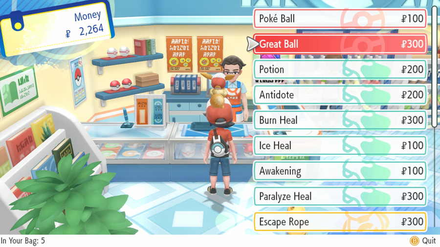 Where To Get Great Balls In Pokemon Let's Go Pikachu & Eevee