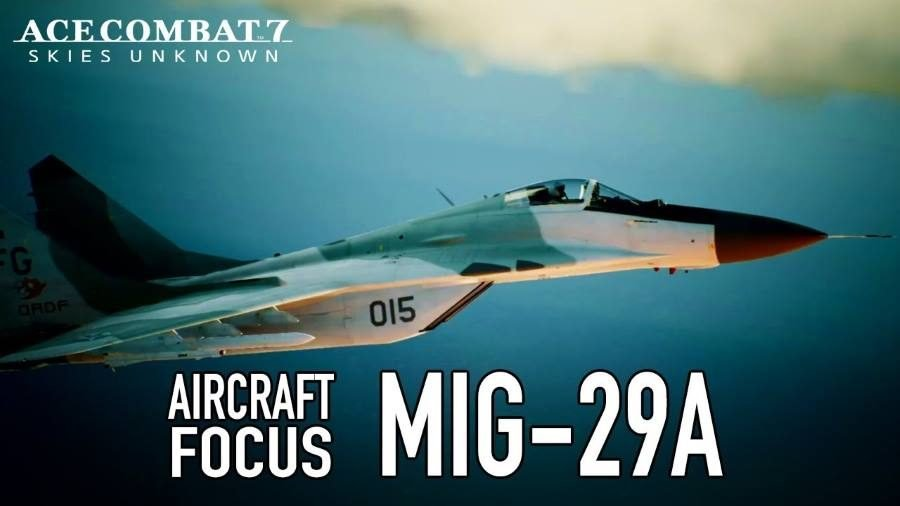 Ace Combat 7 MiG-29A - Gamers Heroes