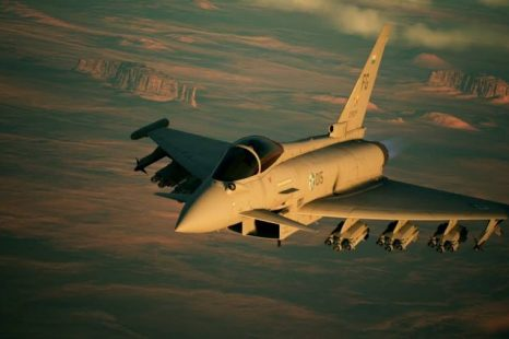 Ace Combat 7's Typhoon Aircraft Detailed in New Trailer