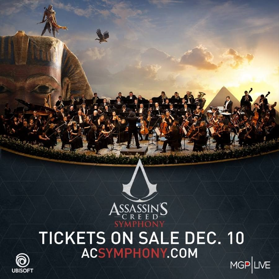 Assassin's Creed Symphony Tickets - Gamers Heroes