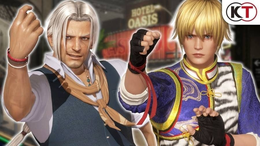 Dead or Alive 6 Brad Wong and Eliot - Gamers Heroes