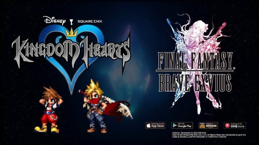 Final Fantasy Brave Exvius Kingdom Hearts - Gamers Heroes