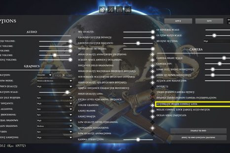 How To Disable Auto Target Lock In Atlas