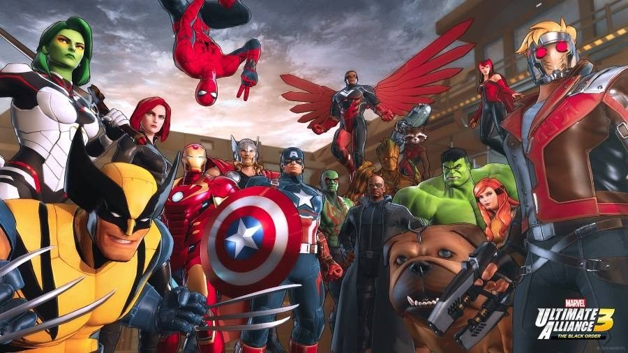 Marvel Ultimate Alliance 3 - Gamers Heroes
