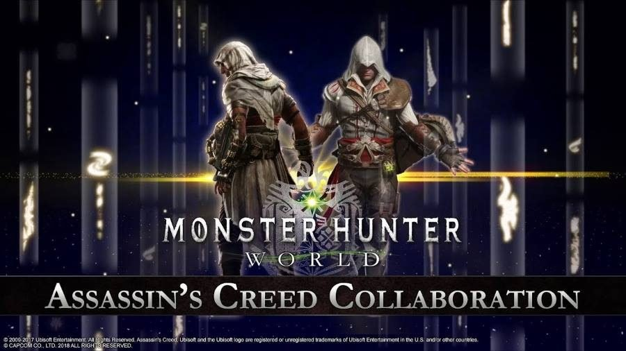 Monster Hunter World Assassin's Creed Collaboration - Gamers Heroes